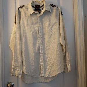 Lucky Brand Dungarees Large Shirt